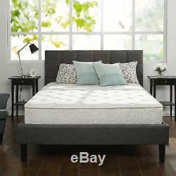 10 Inch California King Size Box Full Spring Frame Foam Mattress Set Bed Frame