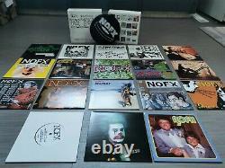 126 Inches Of NOFX Gold Vinyl Box Set With Slipmat