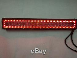 20inch 150w 4d Led Light Bar Offroad Driving Rgb Halo Ring Chasing &harness