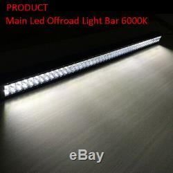 22 INCH Led Work Light Bar + 2x 3 24W Pods with RGB Halo Ring Wireless Bluetooth