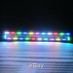 32inch 180W Led offroad Light Bar with RGB Angel Eyes Halo Ring Chasing 30 ATV