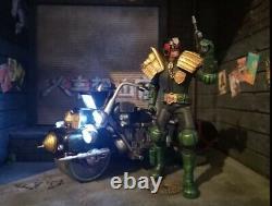 3a Threea Judge Dredd And Lawmaster 2000ad 6inch 1/12 Figure Complete Boxed Set