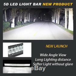 42 inch LED Curved Light Bar Offroad RGB Color Change Strobe Wireless Bluetooth