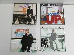 500 only 2005 PAUL WELLER as is now BOX set OF 7s plus 7 inch singles VINYL jam
