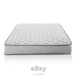 6 Inch Memory Foam Queen Size Box Full Spring Frame Mattress Set Bed Frame Air
