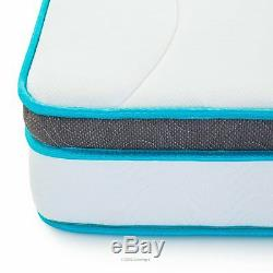 6 Inch Memory Foam Twin XL Size Box Full Spring Frame Mattress Set Bed Frame