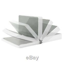7 Inch Gel Memory Foam Mattress and New Innovative Box Spring Set Full Size