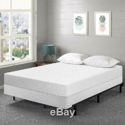 7 Inch Gel Memory Foam Mattress and New Innovative Box Spring Set Multiple Size