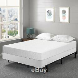 7 Inch Gel Memory Foam Mattress and New Innovative Box Spring Set Queen Size