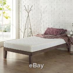 8 Inch Full Size Box Full Spring Frame Foam Mattress Set Topper Bed Frame Air