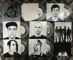 AFI December Underground 7 Inch Vinyl Box Set of 6 Clear Vinyls Limited Edition