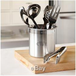 All-Clad Cook Serve In Stainless-Steel Tools 10 inch Set of 6, T-236, New in Box