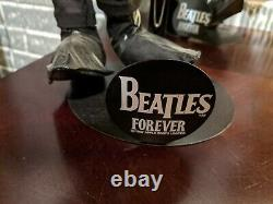 Apple Corps Beatles Forever 20 Inch 4 Doll Set With Stands Original Tags Boxes
