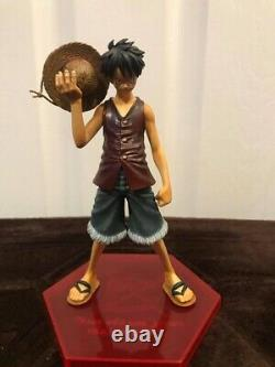 Authentic One Piece DX Figure Set (7-8 Inches) Luffy/GoldRoger/Ace/Garp (No Box)