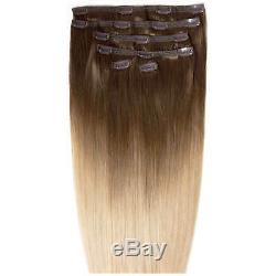 BEAUTY WORKS Double Hair Set 18 Inch Clip-In Hair Extensions Damaged Box
