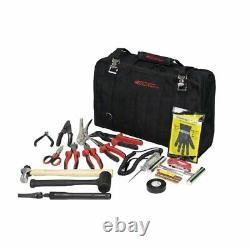BOXO USA Heavy Duty Off-Road Nylon Tool Bag & Professional 80 Piece Tool Set