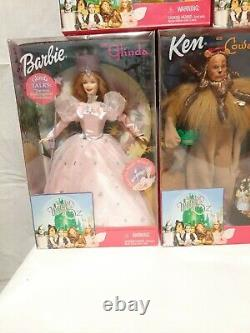 Barbie The Wizard Of Oz Set 1999 set of 5 all new in box. Unopened. 12 inch