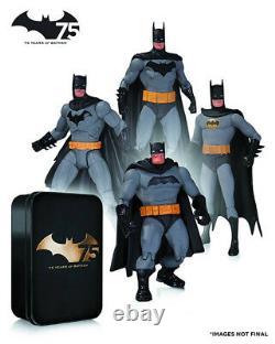 Batman 6 Inch Action Figure Special Edition Batman 75th Anniversary Box Set