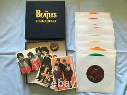 Beatles 7 Inch Box Set Single Record