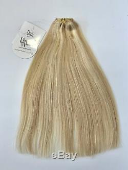 Beauty Works Double Hair Set 18 Inch Clip-In Extensions LA Blonde Damaged Box