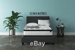 Best KING Size Bed Mattress in Box set Swiss Ortho Sleep 10 Inch Hybrid Foam NEW