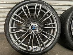 Bmw F10 F11 F12 F13 M5 M6 Front Rear Set Rim Wheel Tire Wheels 19 Inch 19 Oem