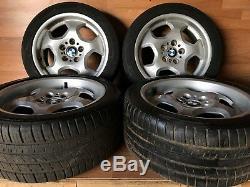 Bmw Oem E36 M3 318 320 323 325 Set Front Rear Wheel Rim Tire 225 45 17 Inch 17