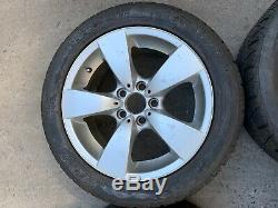 Bmw Oem E60 E61 525 528 530 535 545 550 Front Rear Set Rim Wheel And Tire 17