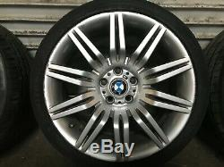 Bmw Oem E60 E61 525 528 530 535 545 550 M5 Front Rear Set Rim Wheel And Tire 19
