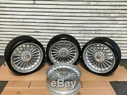 Bmw Oem E65 E66 Alpina B7 Front Rear Set Rim Wheel And Tire Wheels 21 Inch 21