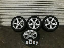 Bmw Oem F30 320 328 335 Front Rear Set Rim Wheel And Tire 17 17 Inch 2012-2016