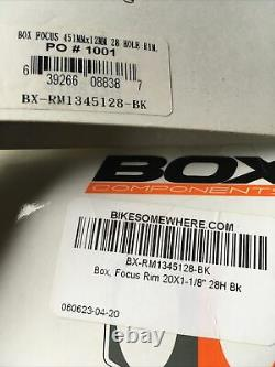 Box 451 20 inch Rim Set 24 and 28 Hole Bike Friday