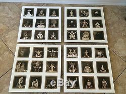 Burning Man- original Art Photographs- Box People- 4 piece art set- 20 x 20 inch