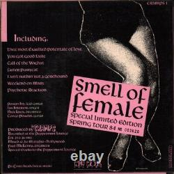 CRAMPS Smell of Female 7 INCH BOX SET VINYL UK Issue Pressed In France New Rose