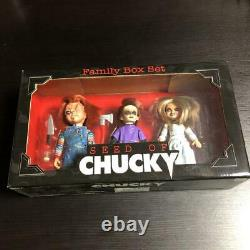 Child Play Family Box Chucky Tiffany Glen 5 inch figure 3 body set 336/AF