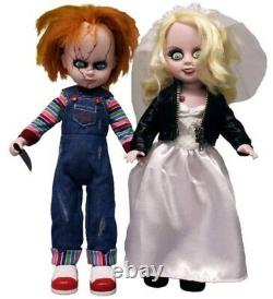Chucky and Tiffany 10 inch Living Dead Dolls Set (New)