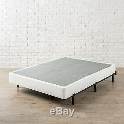 Compack 7 inch Heavy Duty Bed Frame for Box Spring Mattress Sets, Fits Cal King