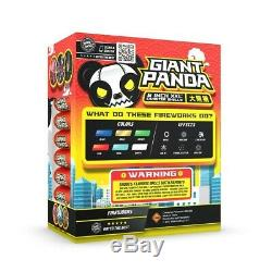Complete Box Set (12) Giant Canisters 6 inch XXL Fireworks Labels