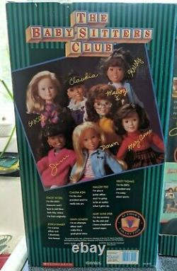 Complete Set of Babysitters Club Dolls -Vintage, Brand New In Box 1993, 18 inch