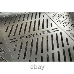 Coyote Signature Stainless Steel Laser Cut BBQ Grill Grates, Set of 3 (Open Box)