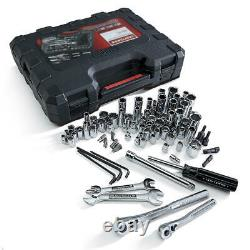 Craftsman 108 pc. Mechanic's Tool Set Wrenches Sockets Hex Ratchets NEW