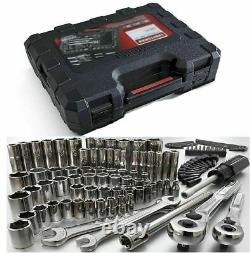Craftsman 108 pc Tool Kit Mechanics Set Socket Ratchet Wrench Toolset with Case