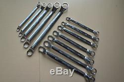 Craftsman 12-PC Inch/Metric 12-pt Double Box Deep Offset Wrench Set Full Polish