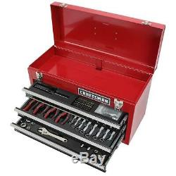 Craftsman 178 Piece Mechanics Tool Set with 21 Inch Metal Tool Box