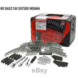 Craftsman 320 Piece Mechanic's Tool Set INCHES & METRIC With 3 Drawer Case Box