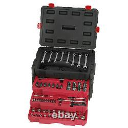 Craftsman 320 Piece Pc Mechanic's Tool Set INCHES & METRIC With 3 Drawer Case