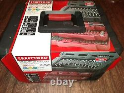 Craftsman 450 Pc. Mechanics Tool Set, Inch & Metric, Ratchets Wrenches Bits Case