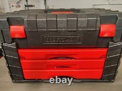 Craftsman USA Mechanics Tool Socket Set 187pcs 1/2 3/8 1/4 Metric SAE Inch Box