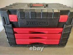Craftsman USA Mechanics Tool Socket Set 1/2 3/8 1/4 Drive Metric SAE Inch Box