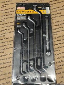 Craftsman USA Professional Deep Offset Box End SAE Full Polish Wrench Set Inch